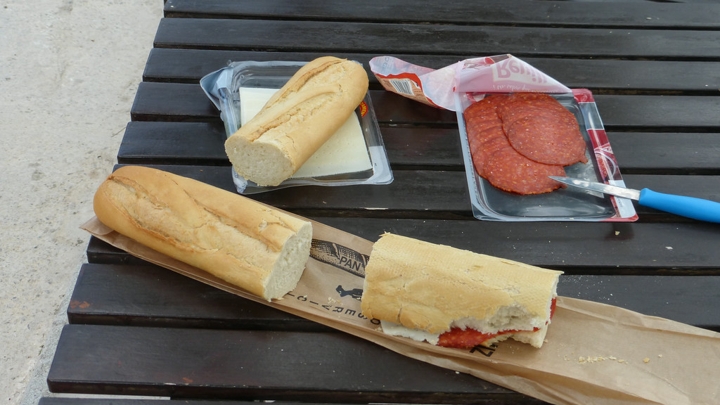 Typical Lunch on the Camino