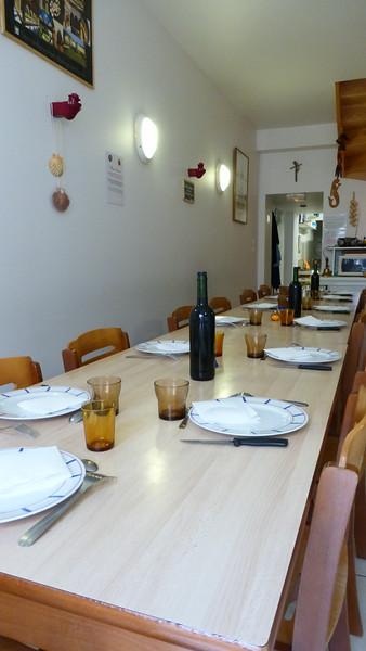 Communal Pilgrim Dinner