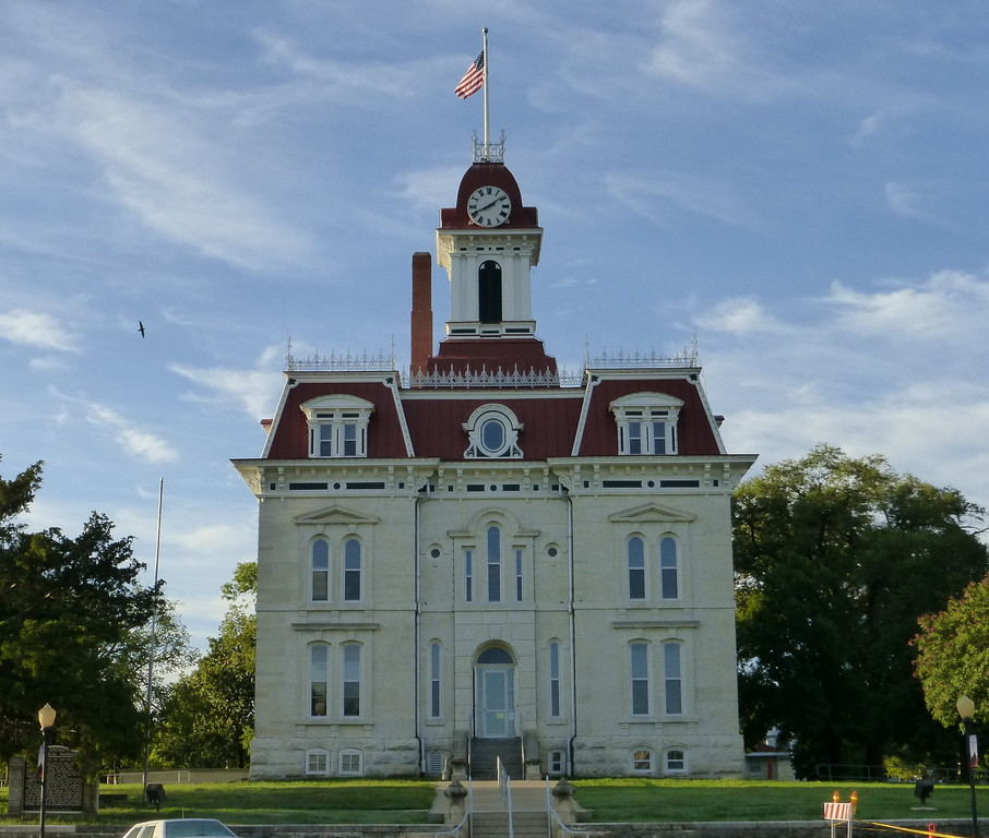 Chase County Courthouse, Cottonwood Falls, KS