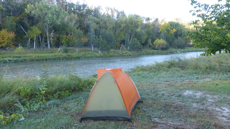 Camping at Smith Falls State Park, Valentine, NE