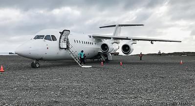 Landing on King George Island