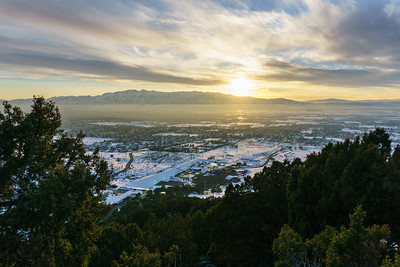 Cache Valley Winter