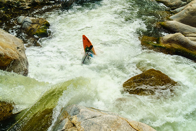 Sometimes rivers change for the better -- Darin lands this beautiful (and possibly new) spout on the Middle Tule.