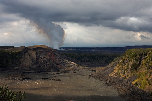 This photograph was taken in Hawaii Volcanoes National Park on Big Island, Hawaii (2/10).  This photograph is protected by the U.S. Copyright Laws and shall not to be downloaded or reproduced by any means without the formal written permission of Ken Conger Photography.