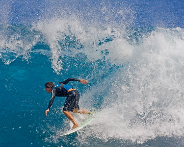 Broke out of my critter mode and had to take a few photographs when watching surfers on Big Island, Hawaii (2/10) .  This photograph is protected by the U.S. Copyright Laws and shall not to be downloaded or reproduced by any means without the formal written permission of Ken Conger Photography.