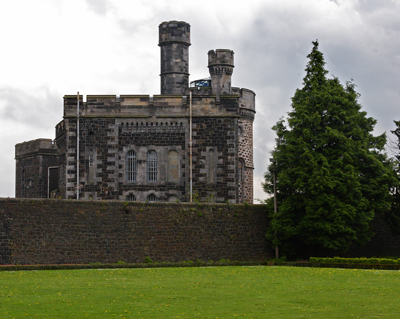 This is a photograph of the jail building outside of Stirling Castle in Scotland (5/06)