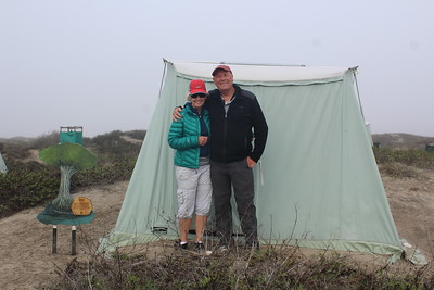 Carol Ann and Mike with their spirit mangrove