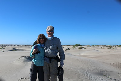 "Robert ""Mike"" and Susan in the dunes"