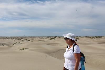 Kathleen and the dunes