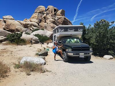 Ryan Camp in Joshua Tree