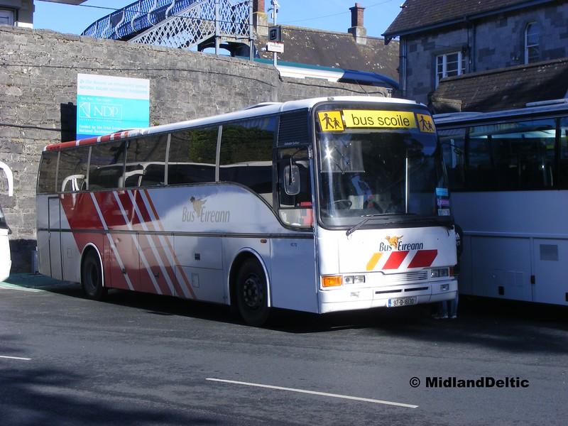 Bus Éireann VC72, Portlaoise Station, 24-09-2014