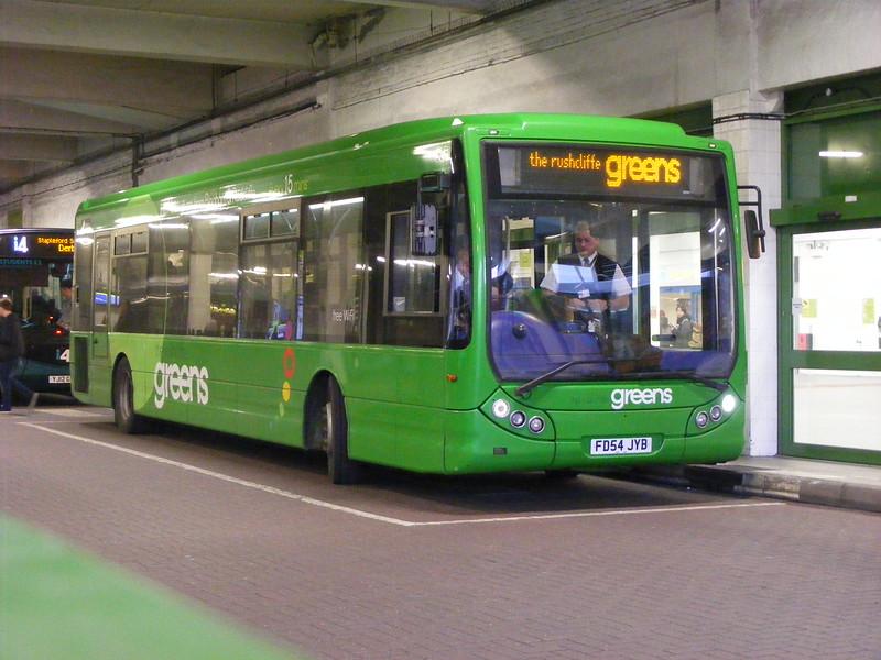 TrentBarton 303, Broad Marsh Bus Station Nottingham, 10-01-2015