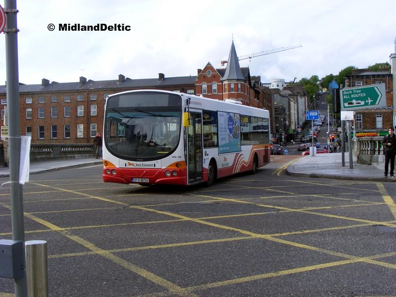 Bus Éireann VWL158, Patricks Bridge Cork, 19-05-2015