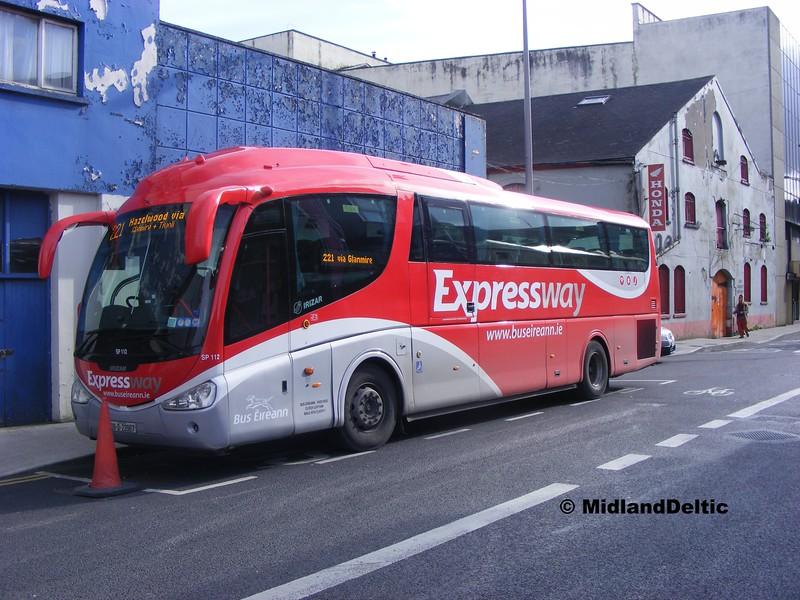 Bus Éireann SP112, Lower Oliver Plunkett St Cork, 19-05-2015