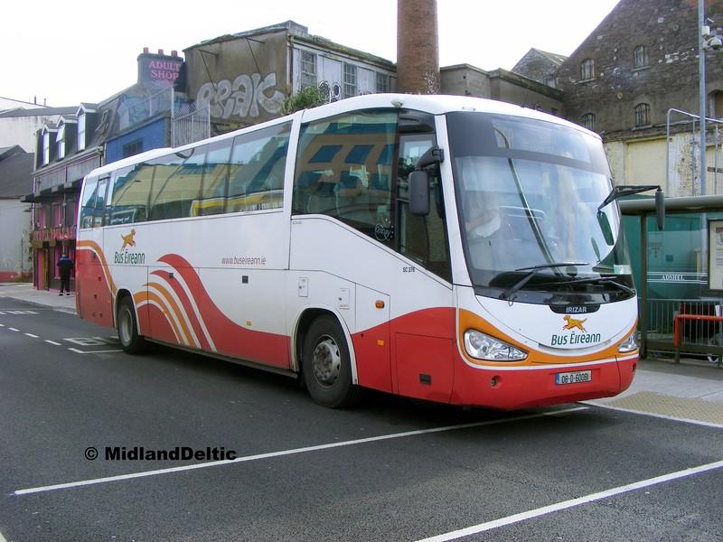 Bus Éireann SC276, Oliver Plunkett St Cork, 19-05-2015