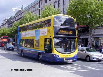 Dublin Bus SG63, O'Connell St Dublin, 06-06-2015