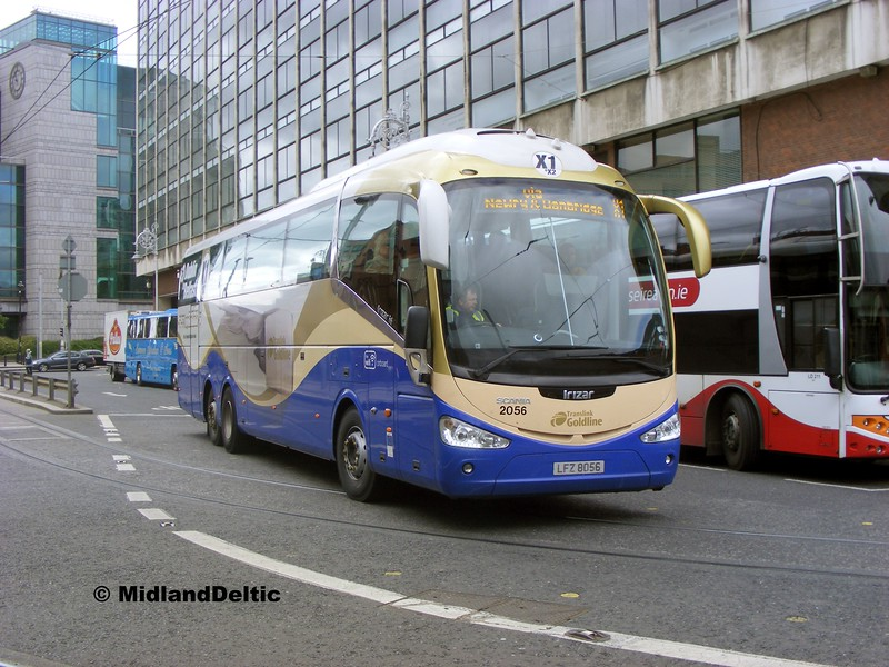 Ulsterbus 2056, Store St Dublin, 06-06-2015