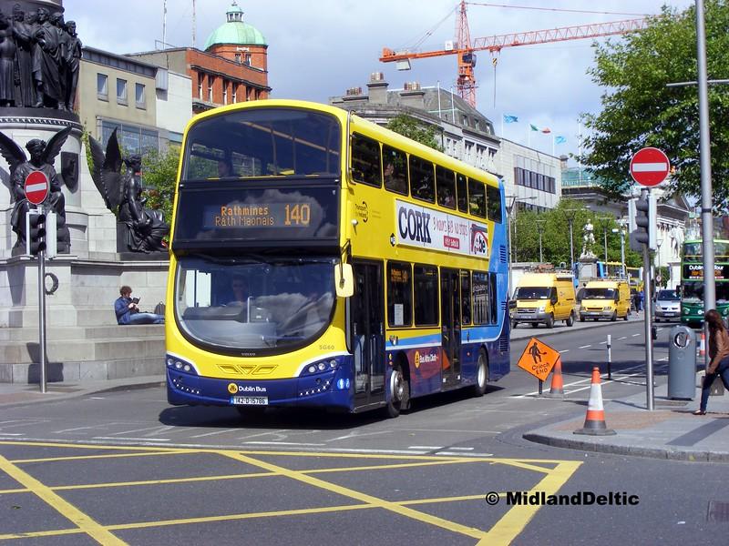 Dublin Bus SG60, O'Connell St Dublin, 06-06-2015
