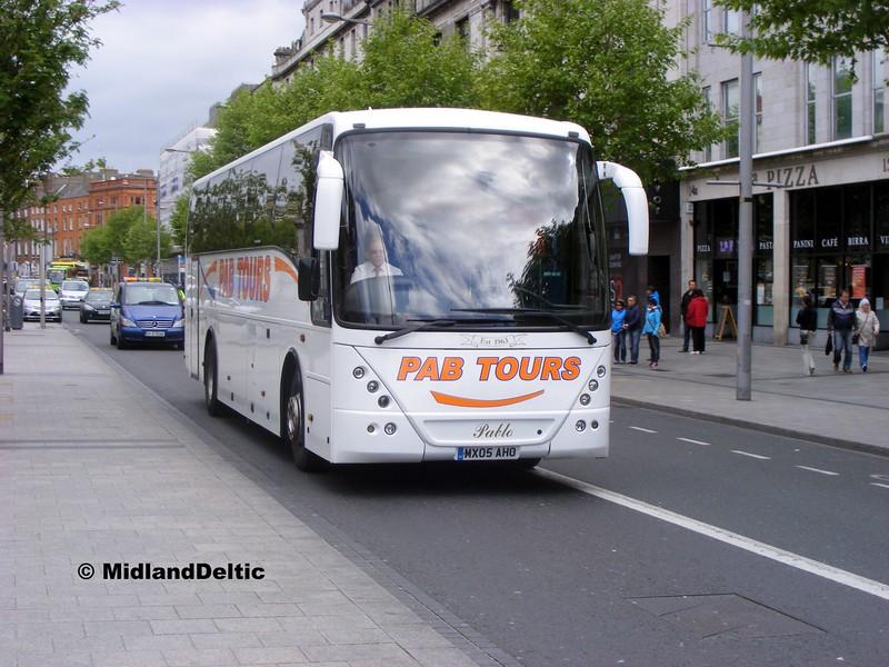 PAB Tours MX05AHO, O'Connell St Dublin, 06-06-2015