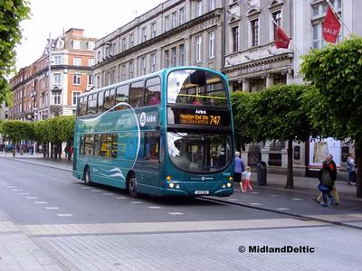 Dublin Bus VG46, O'Connell St Dublin, 06-06-2015
