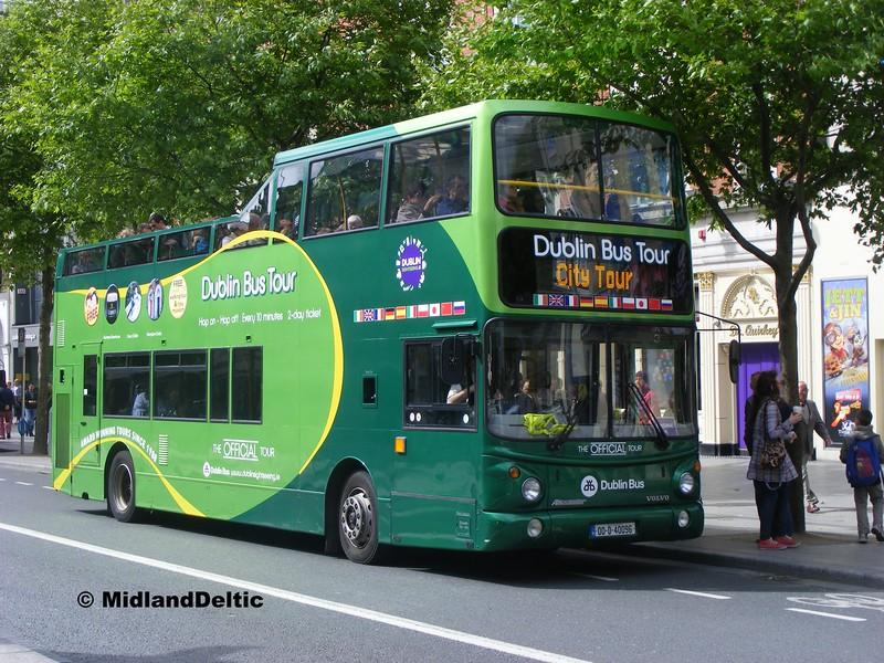Dublin Bus AV96, O'Connell St Dublin, 06-06-2015