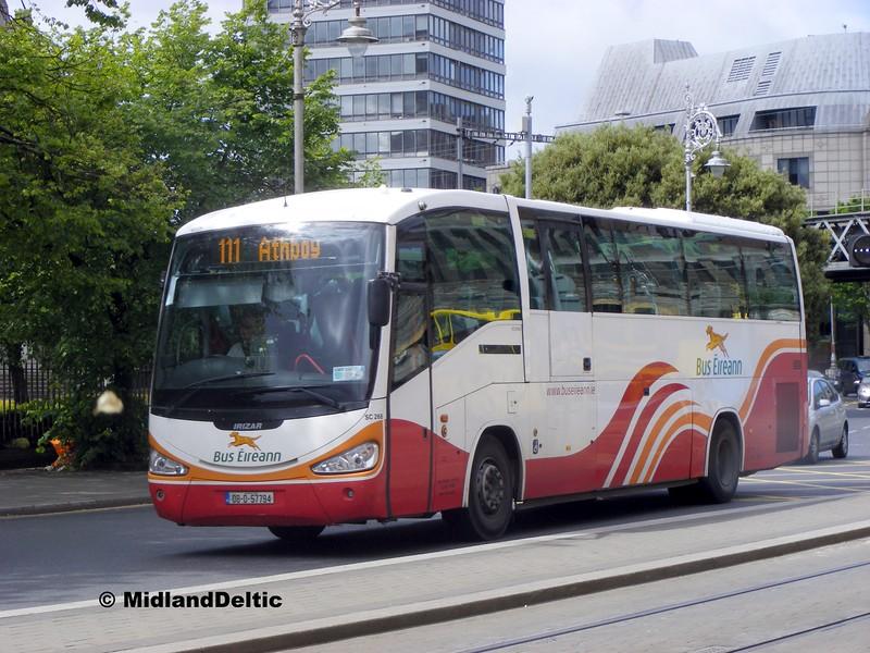 Bus Éireann SC268, Berresford Place Dublin, 06-06-2015