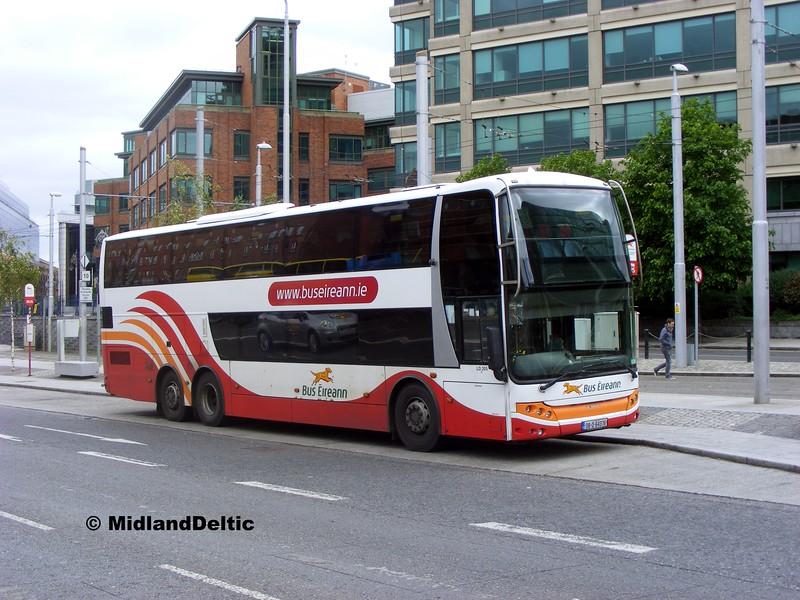 Bus Éireann LD205, Amiens St Dublin, 06-06-2015