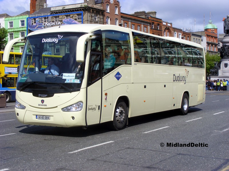 Dualway 141-KE-2914, O'Connell Bridge Dublin, 06-06-2015