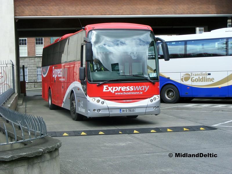 Bus Éireann LC3, Busáras Dublin, 06-06-2015