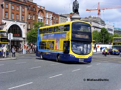 Dublin Bus SG10, O'Connell Bridge Dublin, 06-06-2015