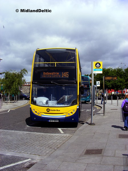 Dublin Bus EV99, Heuston Station Dublin, 06-06-2015