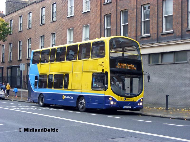 Dublin Bus VG5, Pearse St Dublin, 26-10-2015