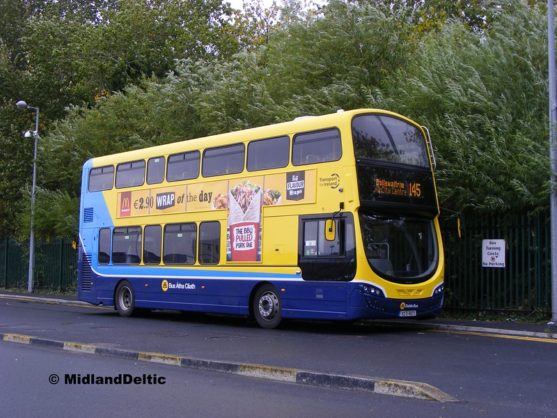 Dublin Bus SG116, Heuston Station Yard Dublin, 26-10-2015