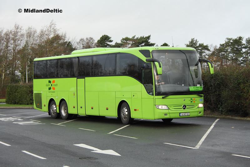 Dublin Coach 142-KE-1191, Midway Services Portlaoise, 04-12-2015