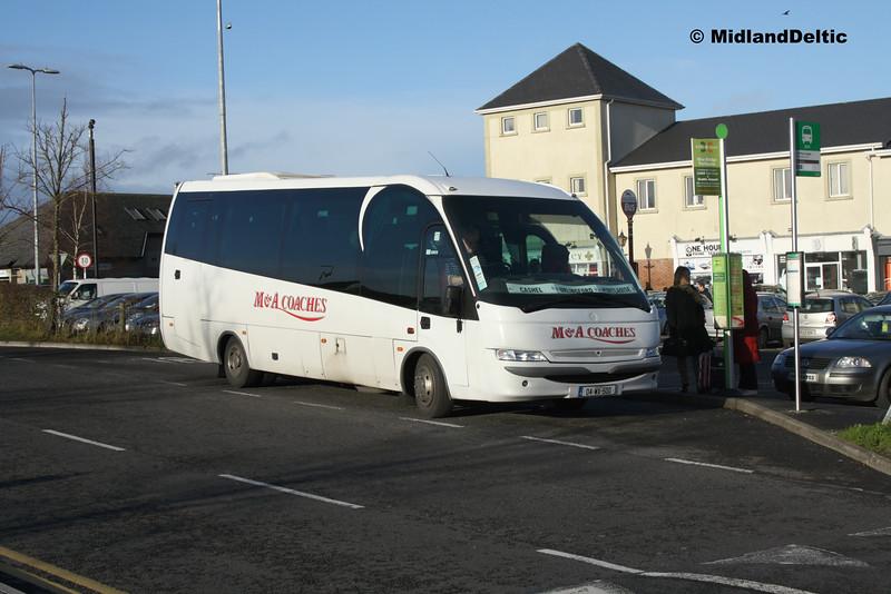 M&A Coaches 04-WX-500, James Fintan Lawlor Ave Portlaoise, 08-12-2015