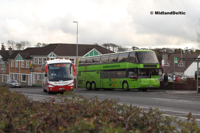 Bus Éireann SC344, Dublin Coach 04-KE-16272, James Fintan Lawlor Ave Portlaoise, 11-11-2015