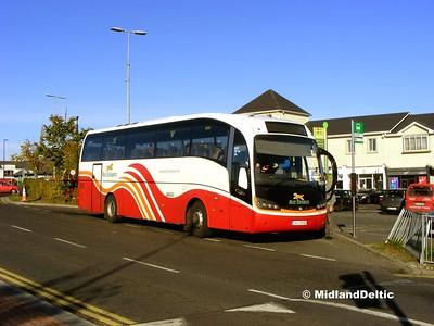 Bus Éireann VG 8, James Fintan Lawlor Ave Portlaoise, 13-10-2015