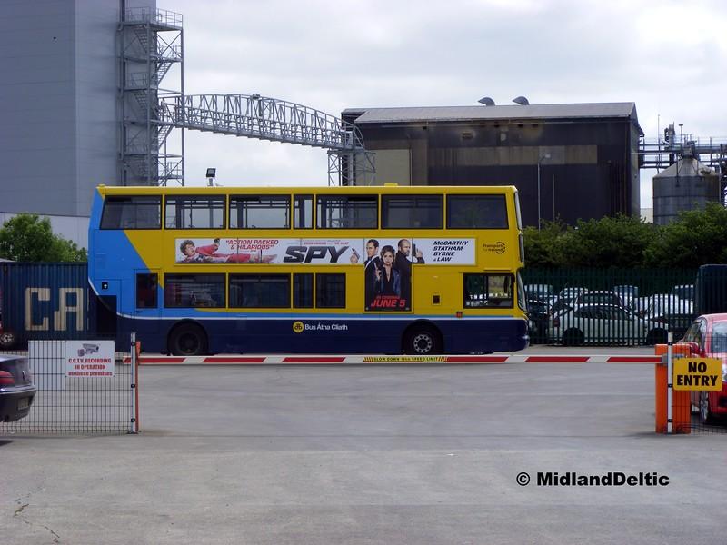Dublin Bus AX569, Corcorans Portlaoise, 18-06-2015