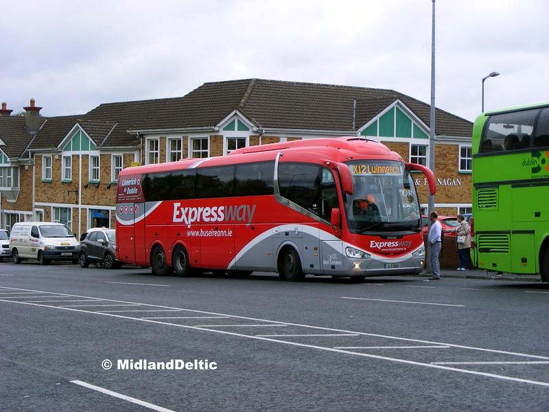 Bus Éireann SE12, James Fintan Lawlor Ave Portlaoise, 18-09-2015
