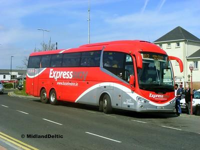 Bus Éireann SE11, James Fintan Lawlor Ave Portlaoise, 23-04-2015