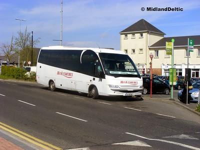 M&A Coaches 04-WX-500, James Fintan Lawlor Ave Portlaoise, 23-04-2015