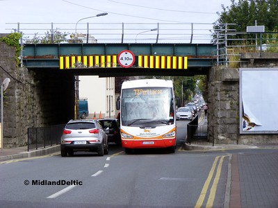 Bus Éireann SC246, Mountmellick Road Portlaoise, 31-08-2015