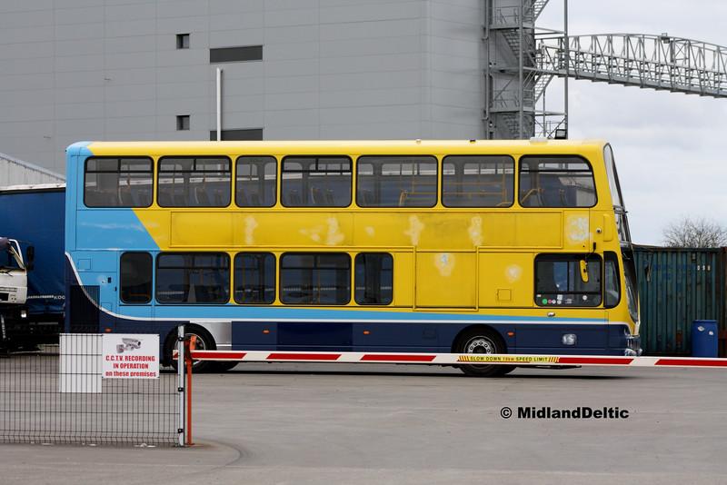Dublin Bus GT35, Corcorans Portlaoise, 12-03-2016