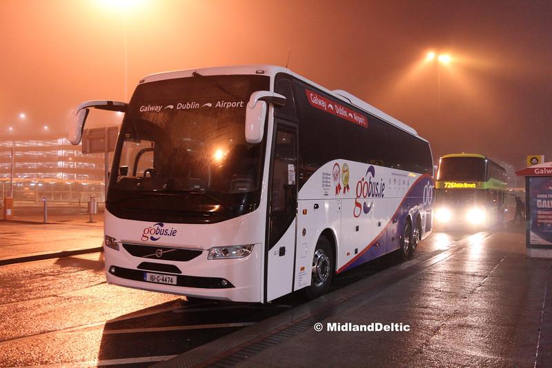 Cummer Coaches 161-G-4474, Dublin Airport, 02-08-2016