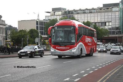 Bus Éireann SE2, Talbot Memorial Bridge Dublin, 23-07-2016