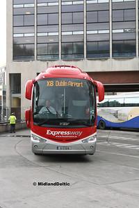 Bus Éireann SE37, Busáras Dublin, 23-07-2016