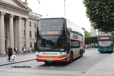 Bus Éireann LD204, O'Connell St Dublin, 23-07-2016