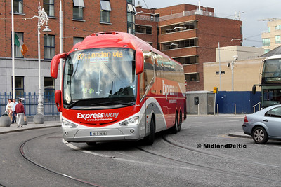 Bus Éireann SE34, Store St Dublin, 23-07-2016