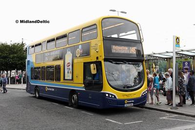 Dublin Bus SG19, Heuston Station Dublin, 23-07-2016