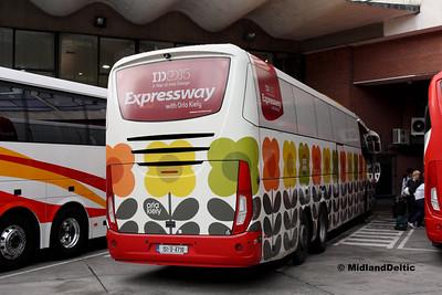 Bus Éireann SE25, Busáras Dublin, 23-07-2016